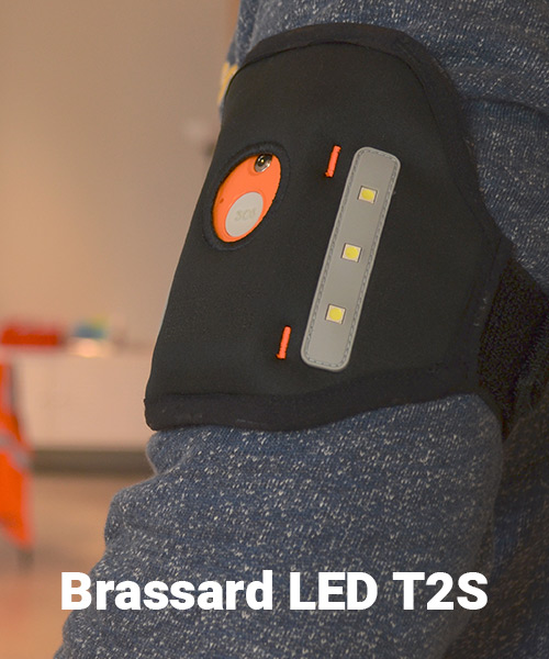 Brassard LED T2S DatiPlus